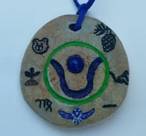 kracht amulet voorbeeld